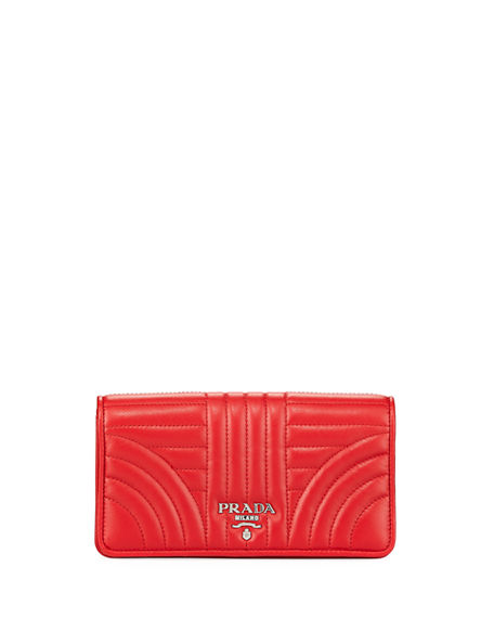 Prada QUILTED CROSSBODY PHONECASE