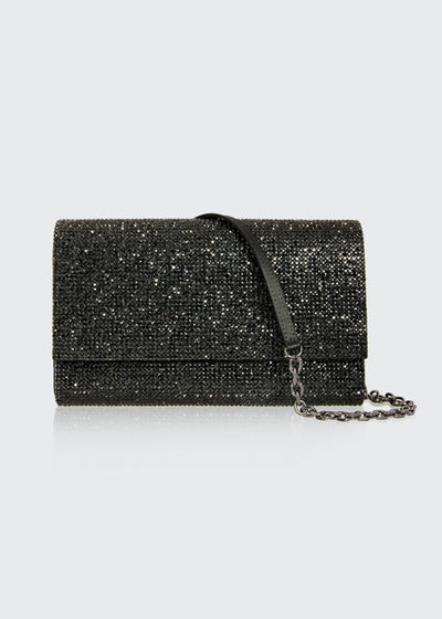 Fizzoni Full-Beaded Clutch Bag