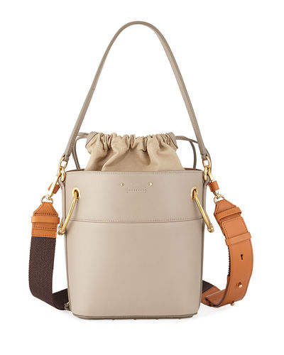 Chloe Roy Small Smooth Calf Leather Bucket Bag f0e8117d24df1