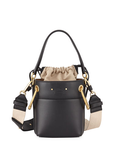 Chloe Roy Mini Smooth Leather Bucket Bag