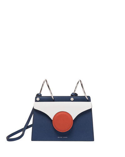 Mini Phoebe Colorblock Shoulder Bag