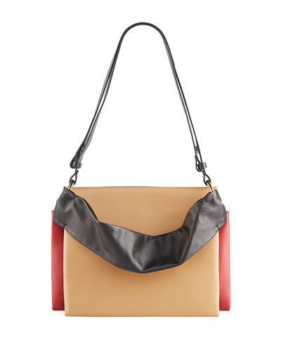 Colorblock Borsa Tracolla Shoulder Bag