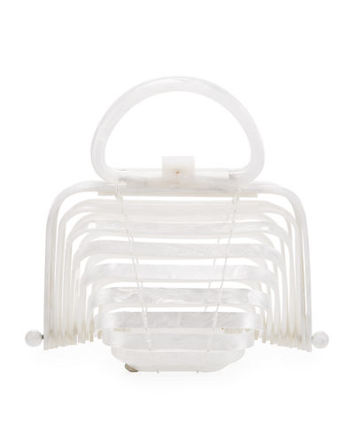 Acrylic Lilleth Top Handle Bag