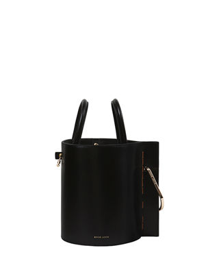Bobbi Leather Tote - Black