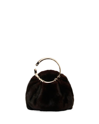 Bebop Loop Fur Clutch Bag