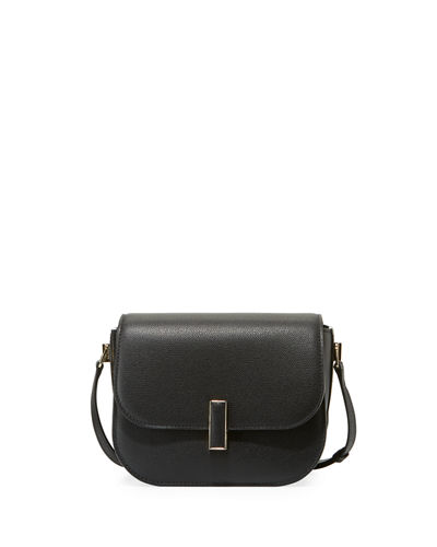 Iside Leather Crossbody Bag