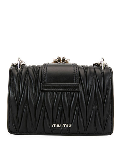 df8f85a3020 Miu Miu Miu Lady Matelasse Shoulder Bag