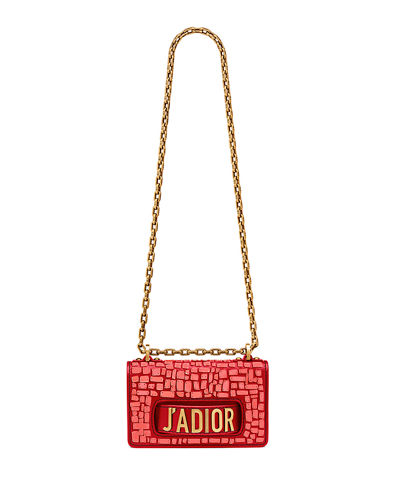7de86ef5dba Dior Mini J adior Bag with Mosaic Calfskin and Chain