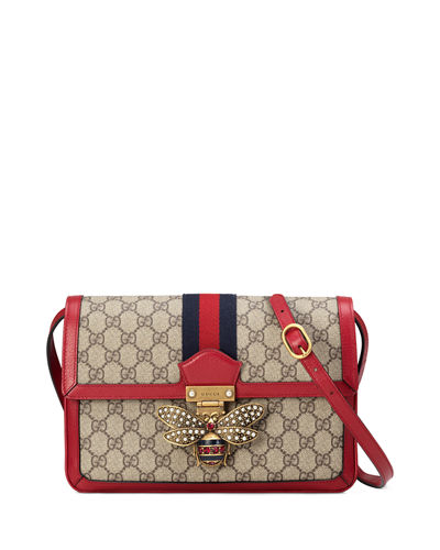 Queen Margaret Medium GG Supreme Shoulder Bag