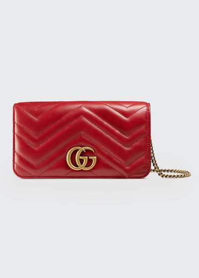 GG Marmont 2.0 Wallet On Chain