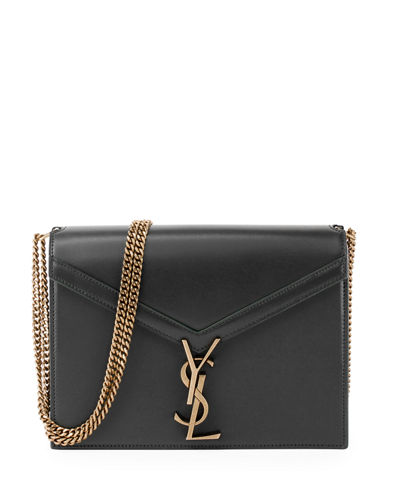 Saint Laurent Marceau Monogram YSL Chain Crossbody Bag