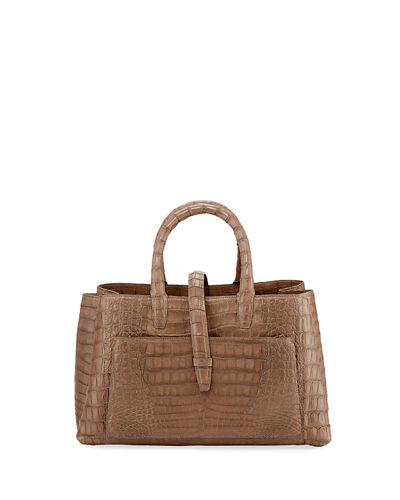 Astrid Small Crocodile Tote Bag