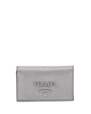 SHINY SAFFIANO LARGE WALLET