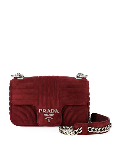Small Diagramme Shoulder Bag w  Chain Strap Quick Look. Prada 62ee5b7b1ae33