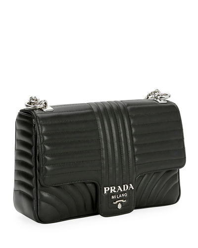 Prada Large Diagramme Shoulder Bag w  Chain Strap 460c0d9850274