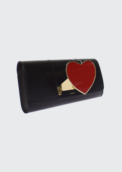 Heart Glove Clutch Bag