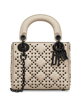 Dior Lady Dior Semi Structured Medium with Flap and Block Charms gdRlyKms