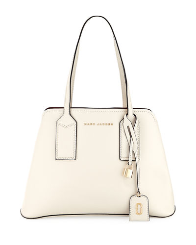 5ba21be0a5f7 Marc Jacobs The Editor Large Pebbled Leather Tote Bag