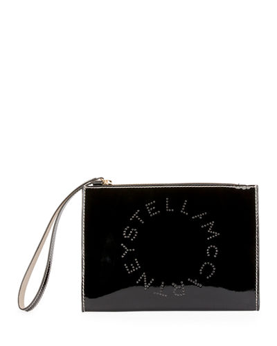 Patent Alternative Nappa Logo Wallet