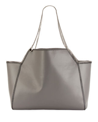 STELLA MCCARTNEY FALABELLA REVERSIBLE MEDIUM TOTE BAG