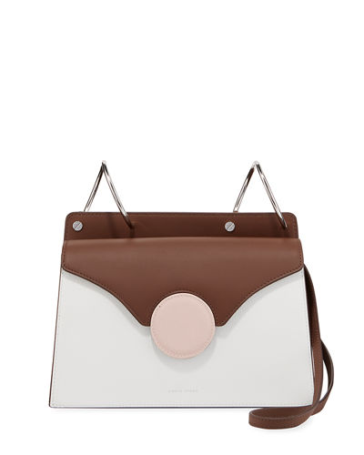 Danse Lente Phoebe Colorblock Leather Shoulder Bag