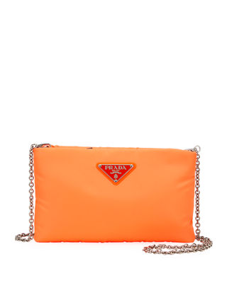 Fluo Clutch in Orange