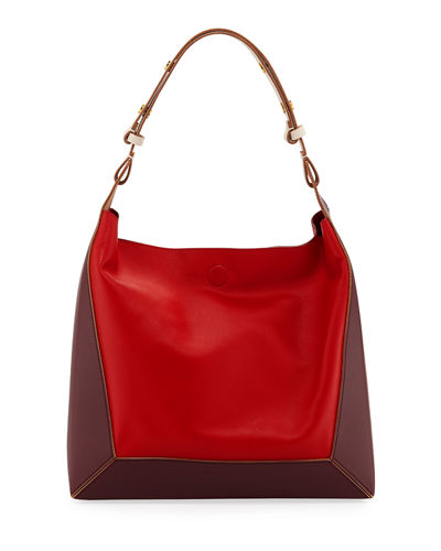 Colorblock Square Shoulder Bag