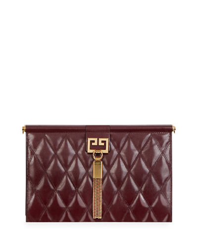 32a11ba434 Gem Medium Quilted Leather Shoulder Bag Quick Look. Givenchy