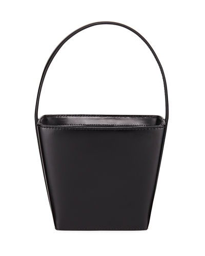 Edie Leather Bucket Bag