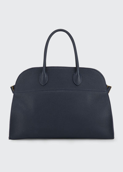 Margaux 10 Smooth Calfskin Top Handle Bag
