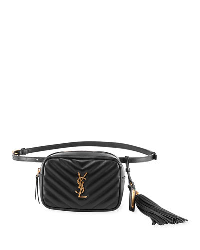 Lou Monogram YSL Quilted Leather Belt Bag