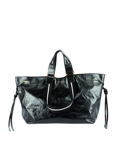 dfa38a0b7ab Isabel Marant Wardy Iconic Leather Shopper Tote Bag