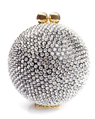 MARZOOK Crystal Orb Minaudiere