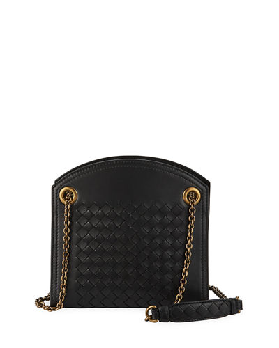 Bottega Veneta Intrecciato Leather Small Shoulder Bag