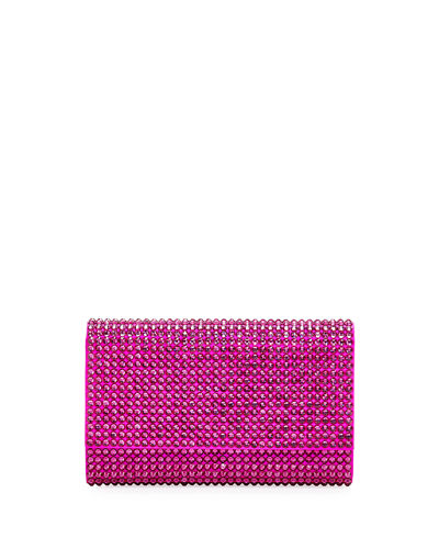 Fizzoni Bling Clutch Bag with Crossbody Strap