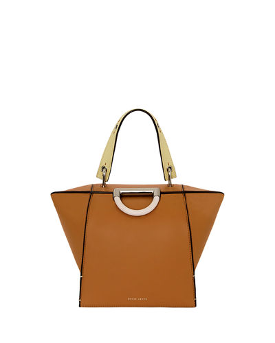 Adele Leather Top Handle Bag