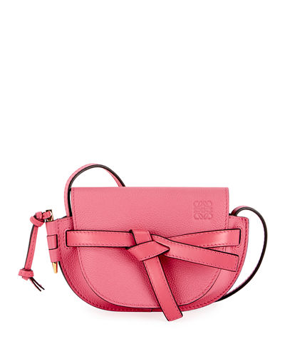 Gate Mini Grain Leather Shoulder Bag