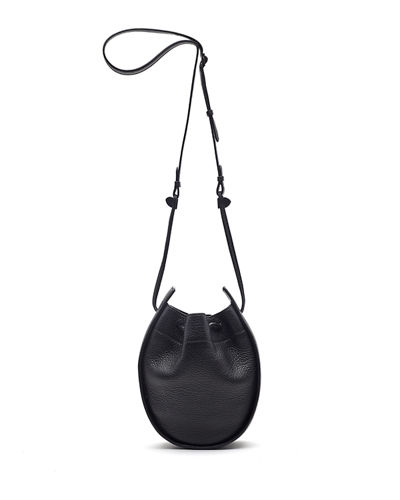 Drawstring Deerskin Leather Pouch Bag