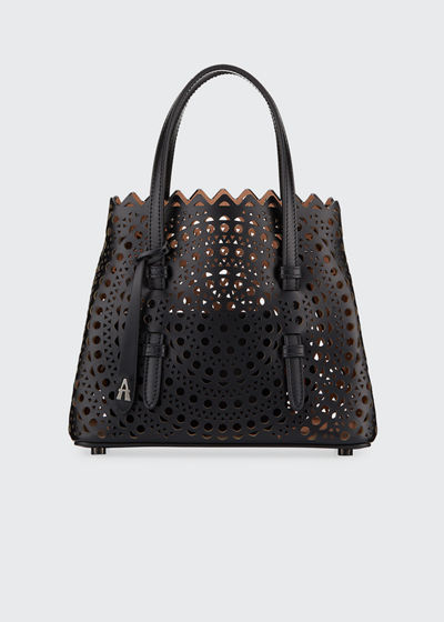 Mina Mini Vienne Laser-Cut Tote Bag