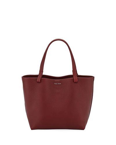 35756be8460f Park Small Luxe Grained Leather Tote Bag