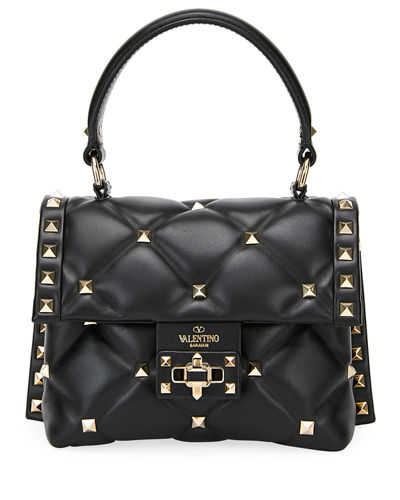 Candystud Quilted Mini Single-Handle Flap Bag