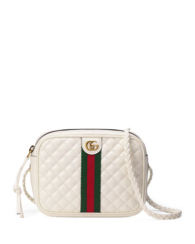cc204608bbc2 Quilted Zip Camera Crossbody Bag Quick Look. Gucci