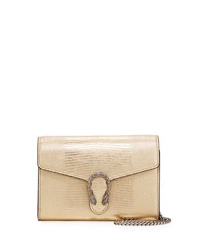 Dionysus Metallic Chain Crossbody Bag