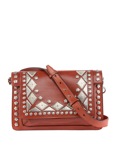 Studded Maskhia Crossbody Bag