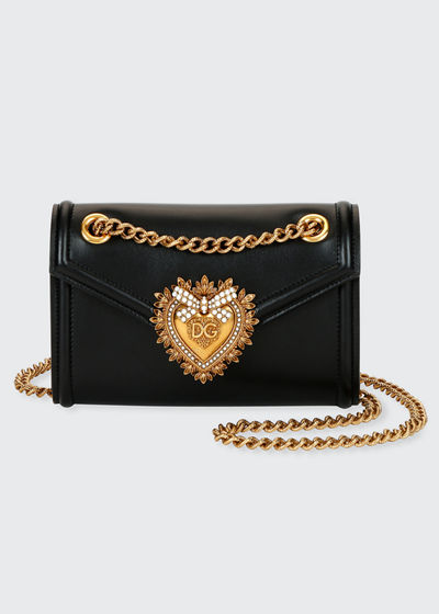 Devotion Mini Leather Crossbody Bag