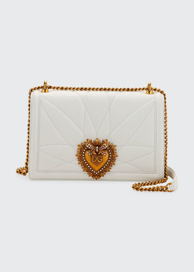 Devotion Medium Quilted Crossbody Bag