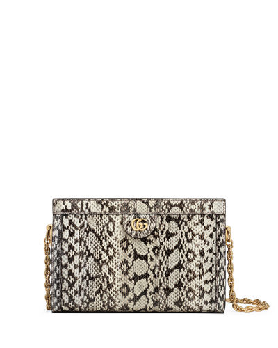 Ophidia Small Snake Chain Shoulder Bag
