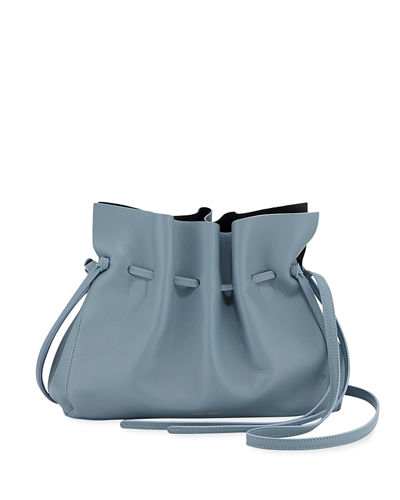 Protea Leather Bucket Bag
