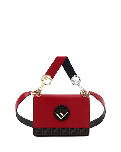 3d9bab8728 Kan I Regular FF Bicolor Shoulder Bag Quick Look. Fendi