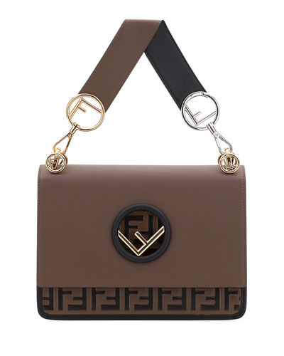 Kan I Regular FF Bicolor Shoulder Bag